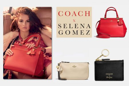 Just In: COACH x Selena Gomez's Accessories Collection