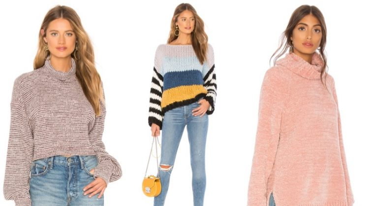 Pullover sweaters take the spotlight