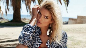 Cristina Tosio Models Swimsuit Season Looks in Glamour Italy