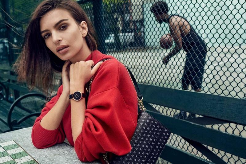 Emily Ratajkowski fronts DKNY's fall-winter 2017 campaign