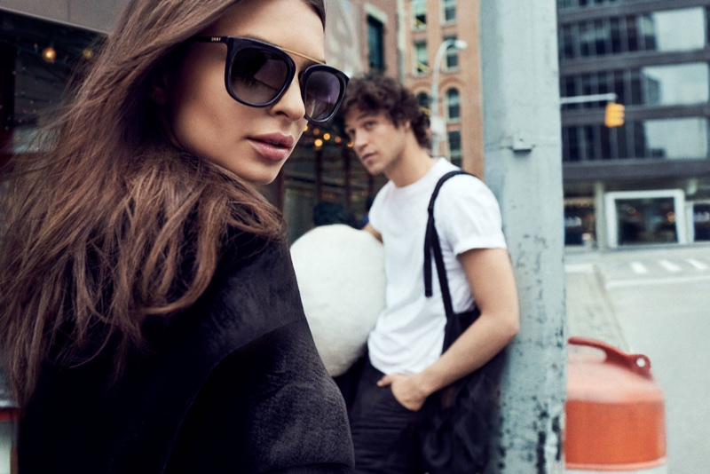 DKNY features its sunglasses in fall-winter 2017 campaign