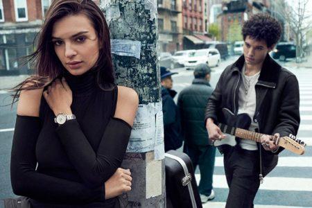 Emily Ratajkowski stars in DKNY's fall-winter 2017 campaign
