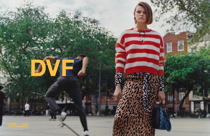 Diane von Furstenberg fall-winter 2017 campaign