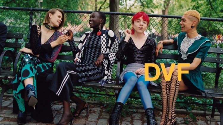DVF Sets Fall 2017 Campaign in New York