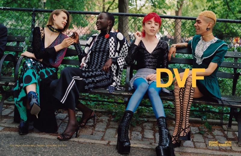 Diane von Furstenberg unveils fall-winter 2017 campaign