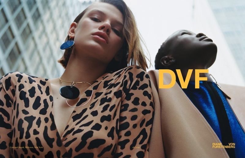 An image from Diane von Furstenberg's fall 2017 campaign