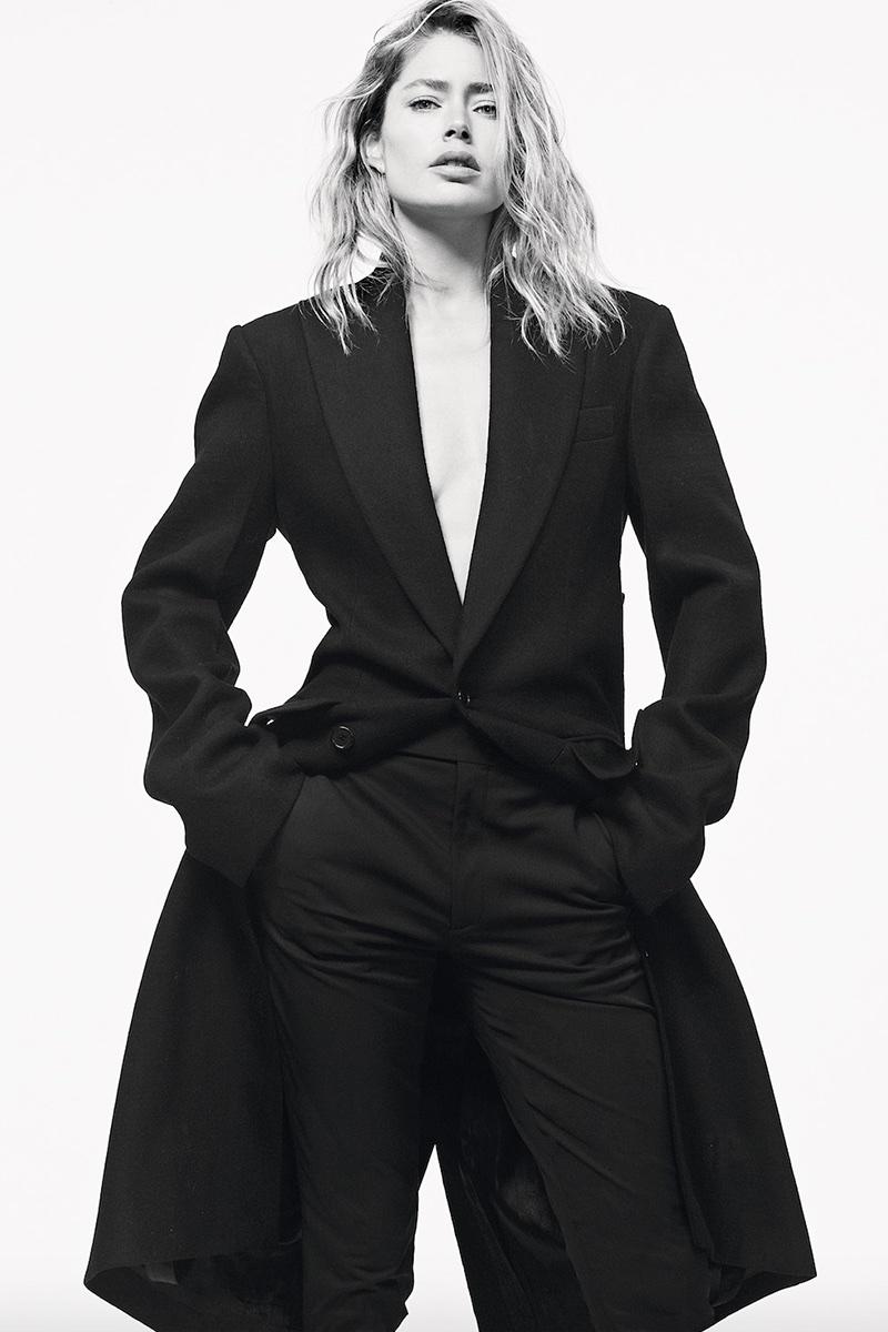 Doutzen Kroes Models Minimal Styles in S Moda