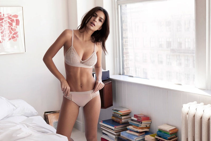 An image from DKNY Intimates' fall 2017 advertising campaign