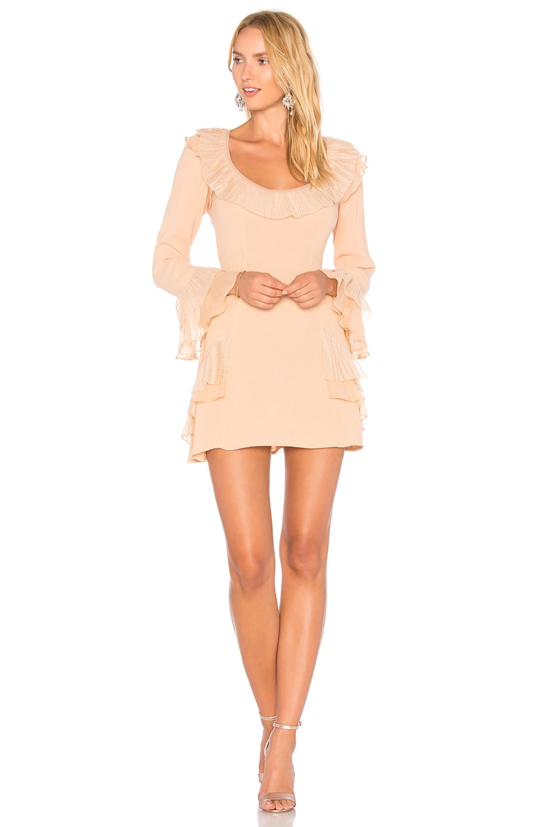 For Love & Lemons Evie Mini Dress $194