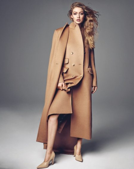 Gigi Hadid Models New Season Looks in Vogue Korea Cover Story