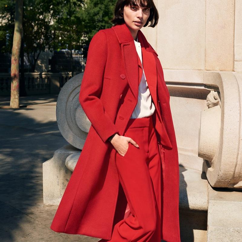 H&M Wool-Blend Coat, Blazer and Suit Pants
