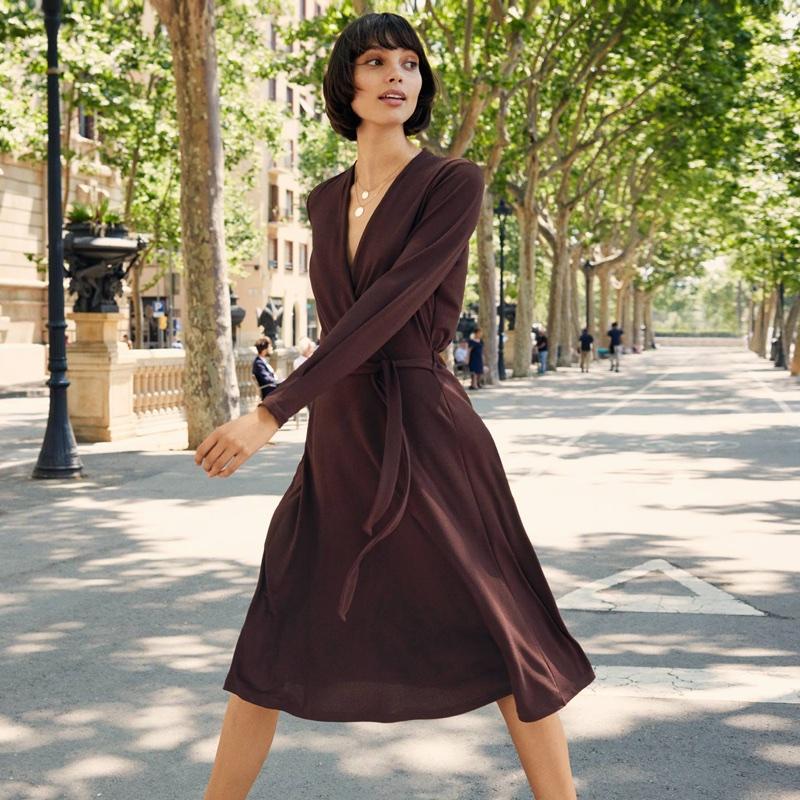 H&M Crêped Jersey Dress