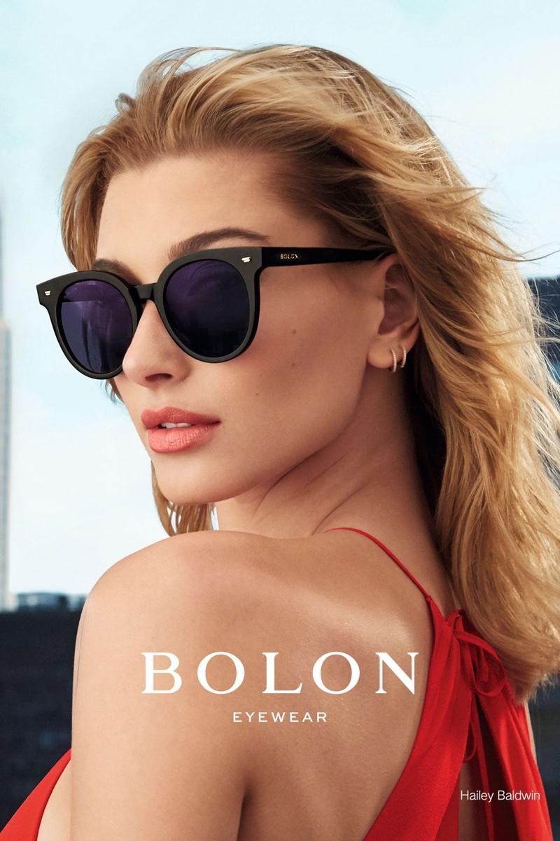 Bolon Eyewear taps Hailey Baldwin for its 2017 campaign