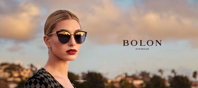 Hailey Baldwin for Bolon Eyewear