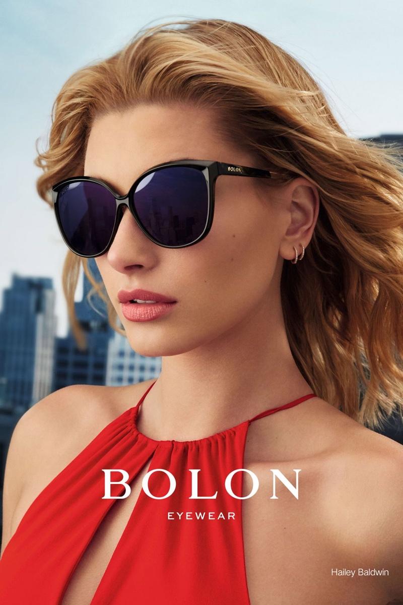 b5bff009cf Hailey Baldwin Bolon Eyewear 2017 Campaign