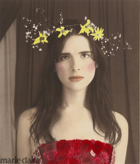 Hari Nef Channels Vintage Beauty for Marie Claire Spread