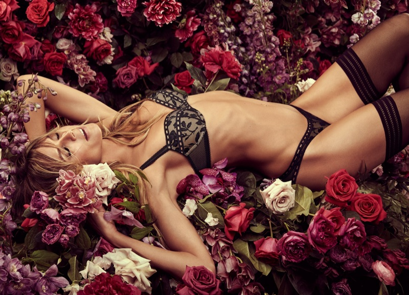 An image from Heidi Klum Intimates fall-winter 2017 campaign