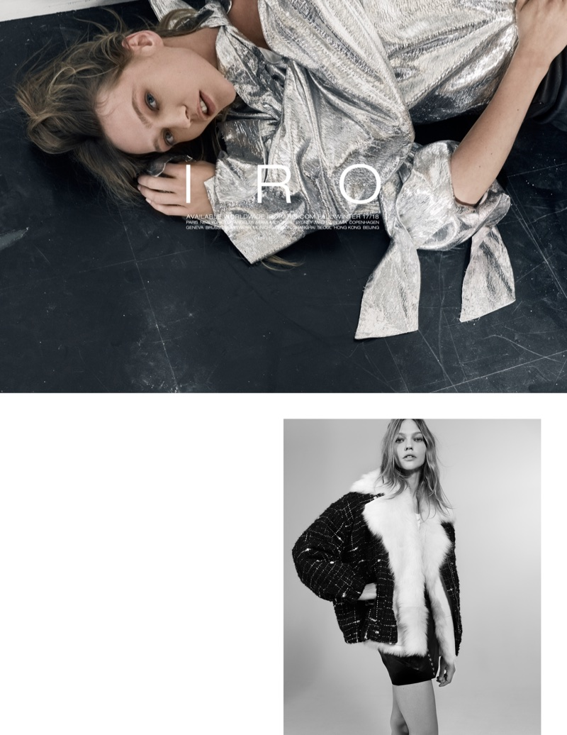 An image from IRO's fall-winter 2017 campaign