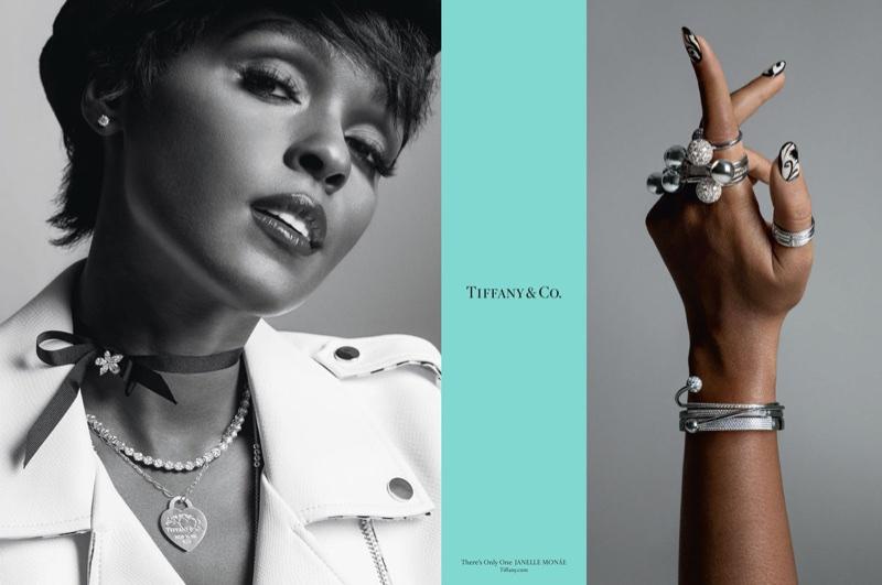 Janelle Monae stars in Tiffany & Co. fall-winter 2017 campaign