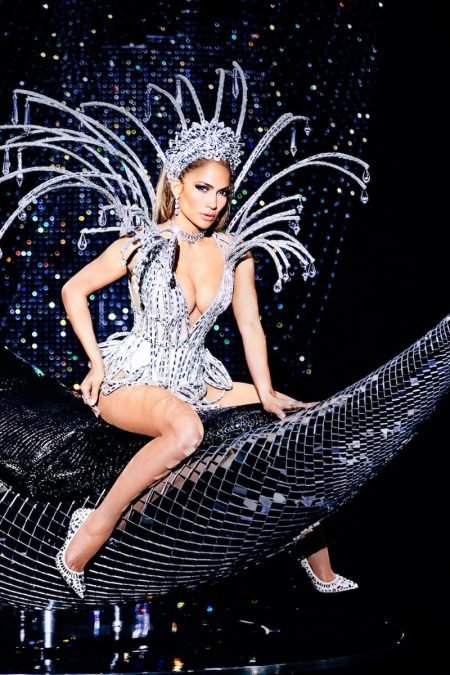 Jennifer Lopez Turns Up the Glam Factor for Paper Magazine