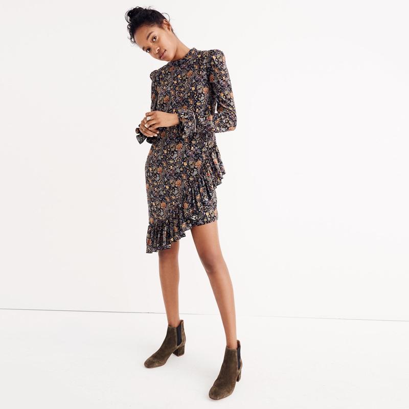 Karen Walker Silk Loretta Dress $470