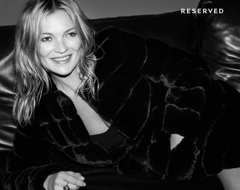 Polish fashion brand Reserved taps Kate Moss for its fall-winter 2017 campaign