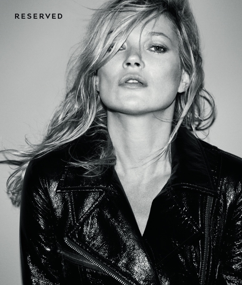 Kate Moss for Reserved fall-winter 2017 campaign