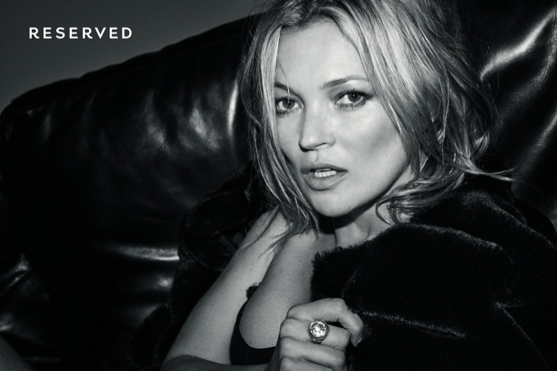 Kate Moss for Reserved fall-winter 2017