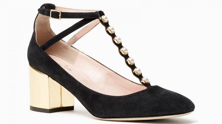 Kate Spade Galewood Heels Black $350