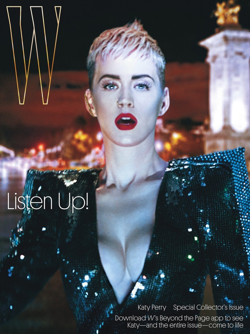 Katy Perry on W Magazine September 2017 Cover