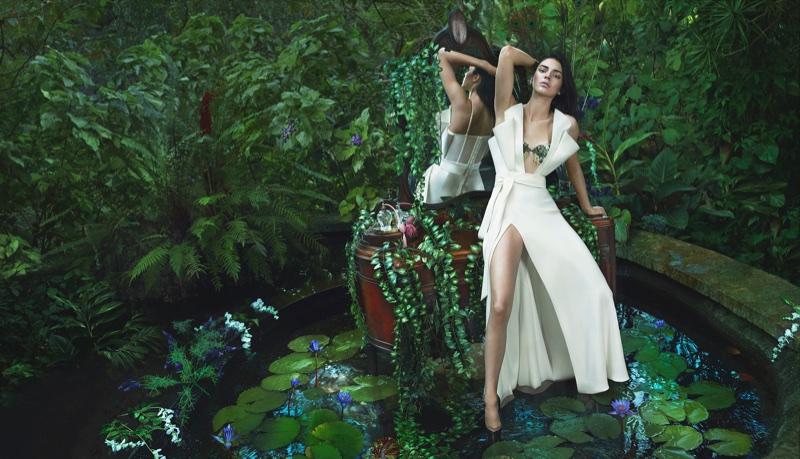 Kendall Jenner stars in La Perla's fall-winter 2017 campaign
