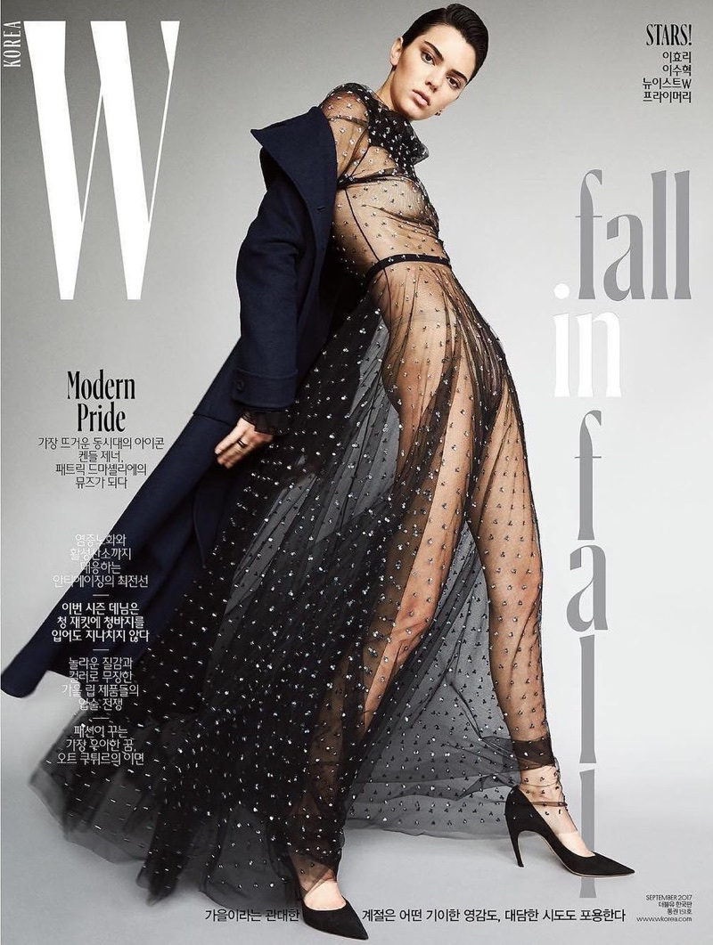 Kendall Jenner Looks Divine in Dior for W Korea