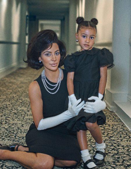 Kim Kardashian Channels Jackie Kennedy in Interview Magazine