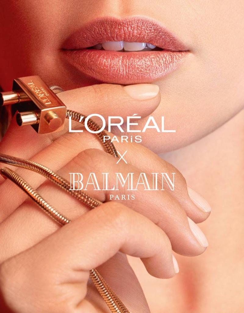 L'Oreal Paris x Balmain Tribe Couture matte lipstick
