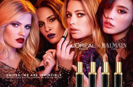 L'Oreal Paris & Balmain Up the Chic Factor With New Lipstick Collab