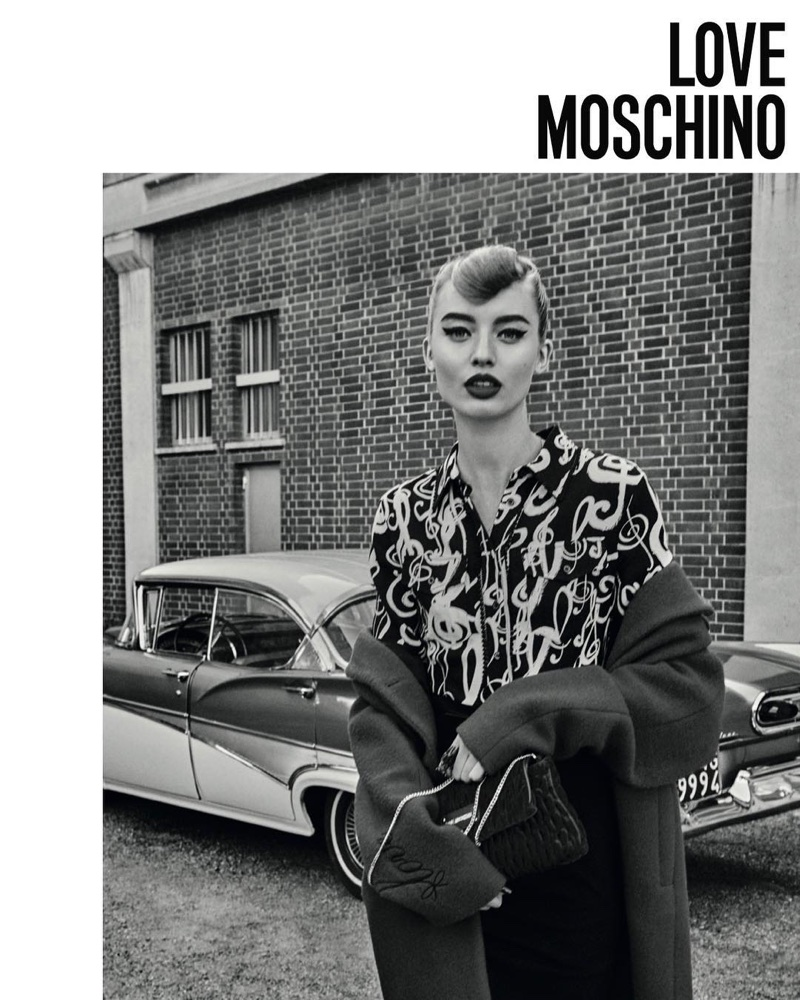 Love Moschino showcases rockabilly style for its fall-winter 2017 campaign