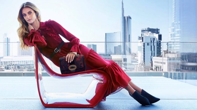 Luisa Spagnoli taps model Kate Bock for its fall-winter 2017 campaign