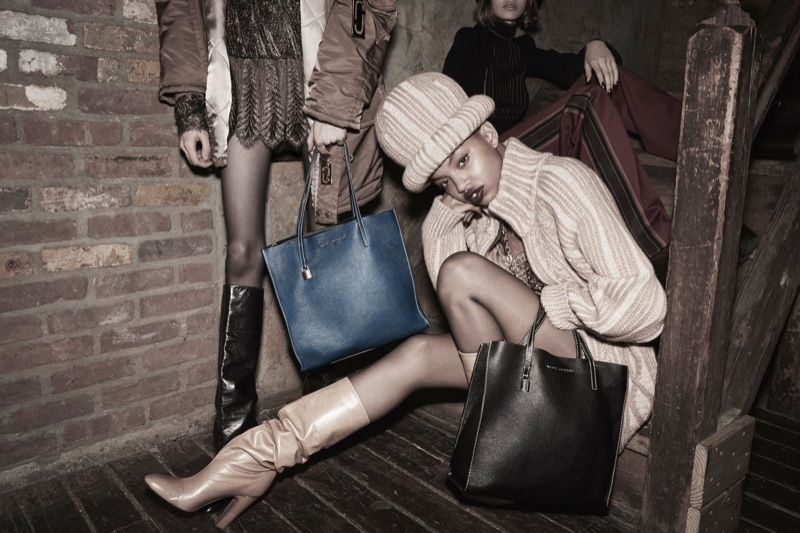 Slick Woods stars in Marc Jacobs' fall-winter 2017 campaign