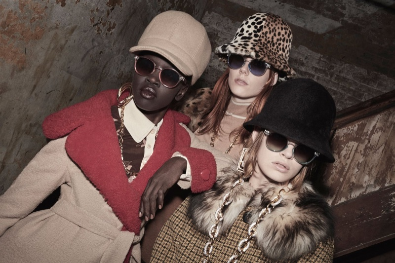 Alek Wek, Kiki Willems and Cara Taylor front Marc Jacobs fall 2017 advertising campaign