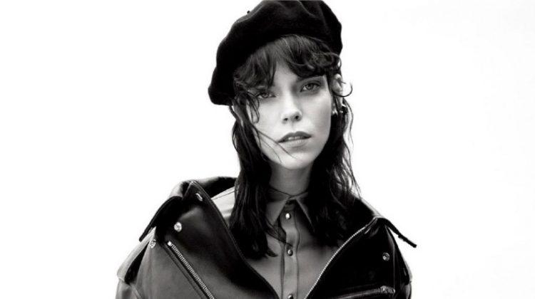 Meghan Collison Models Sleek Fashions for Dress to Kill Magazine