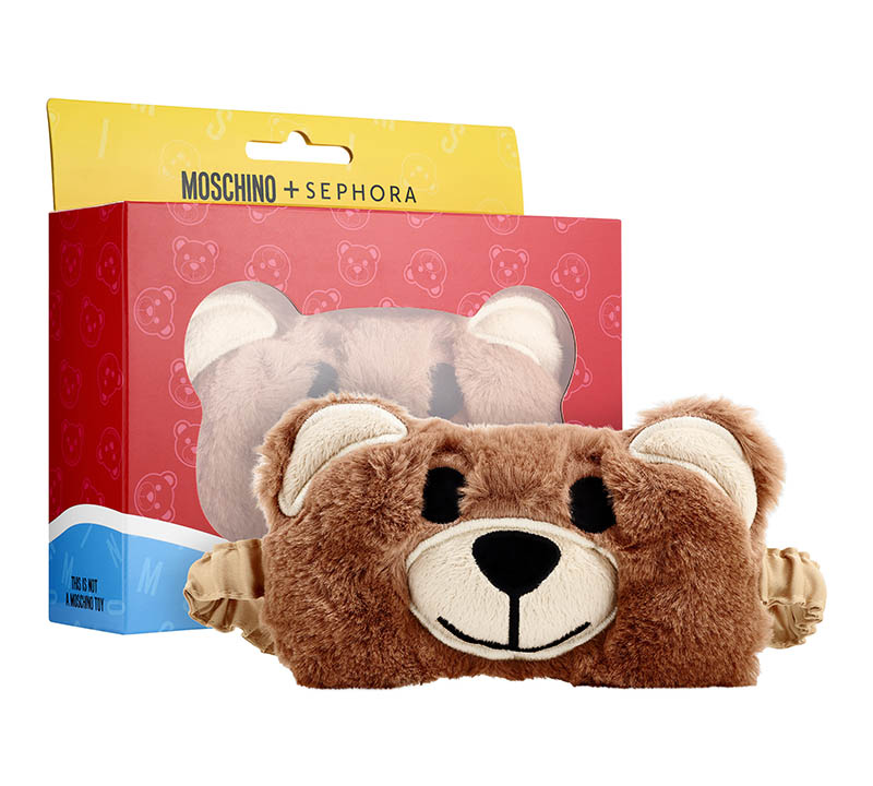 Moschino x Sephora Bear Eye Mask $20.00