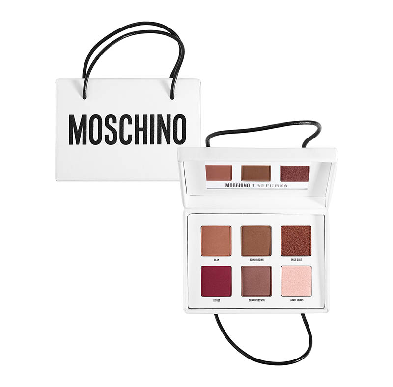 Moschino x Sephora Shopping Bag Eyeshadow Palette $18.00