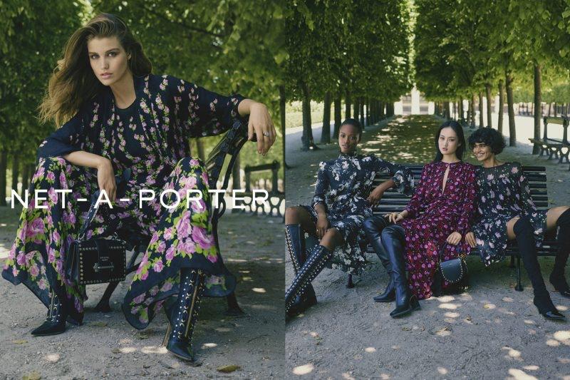 3e70601f03c2 ... Net-a-Porter spotlights dark prints in fall-winter 2017 campaign