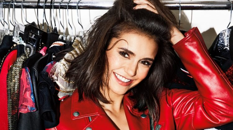 Nina Dobrev Wears Chic Looks in harper by Harper's Bazaar