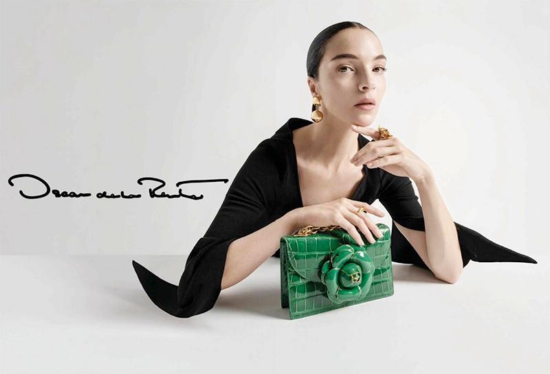 Mariacarla Boscono stars in Oscar de la Renta's fall-winter 2017 campaign