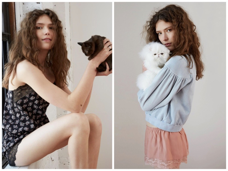 Rebecca Taylor & Eberjey lingerie collaboration