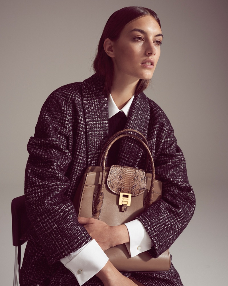 Ronja Furrer Models Michael Kors Style in L'Officiel Switzerland