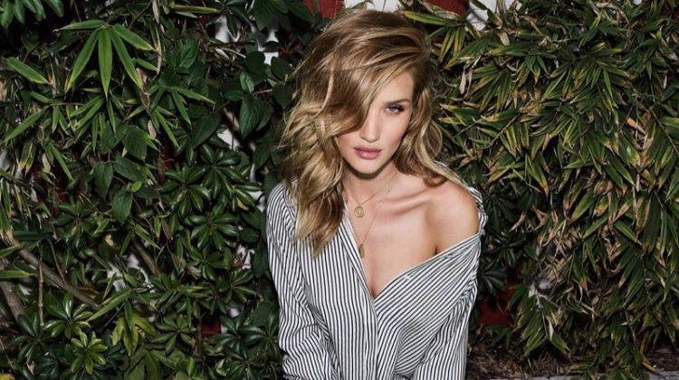 Rosie Huntington-Whiteley stars in Paige's fall-winter 2017 campaign