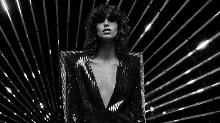 Saint Laurent Turns Up the Shine Factor for Fall 2017 Campaign