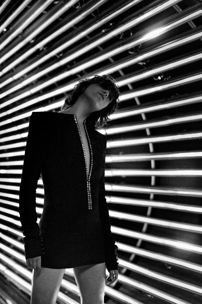 Charlotte Gainsbourg stars in Saint Laurent's fall-winter 2017 campaign